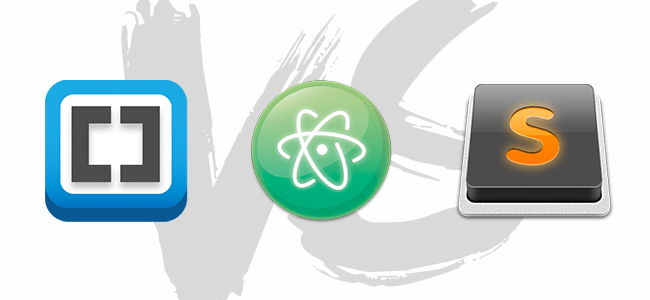 Brackets / Sublime Text / Atom, le comparatif