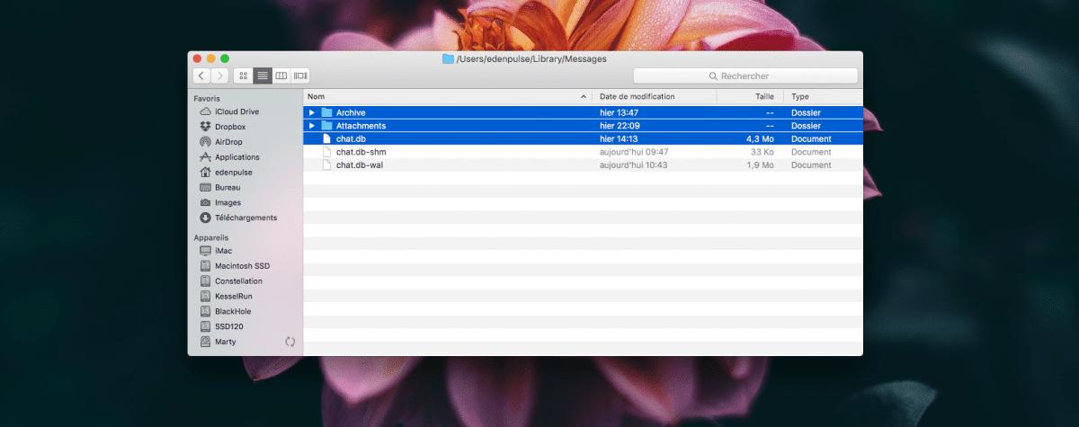 Transférer ses iMessages d'un Mac à un autre